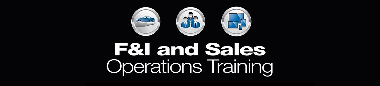 F&I And Sales Operations Training | F&I Automotive Aftermarket ...
