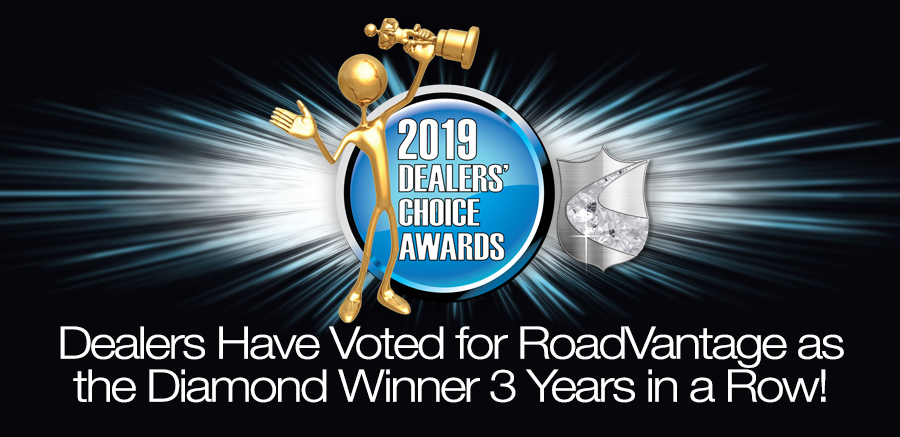 RoadVantage Wins #1 Diamond Dealers' Choice Award for the Third Year Running