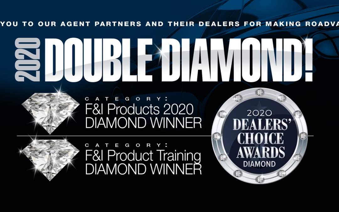 RoadVantage Wins #1 Diamond Dealers' Choice Award for 4 Years Running