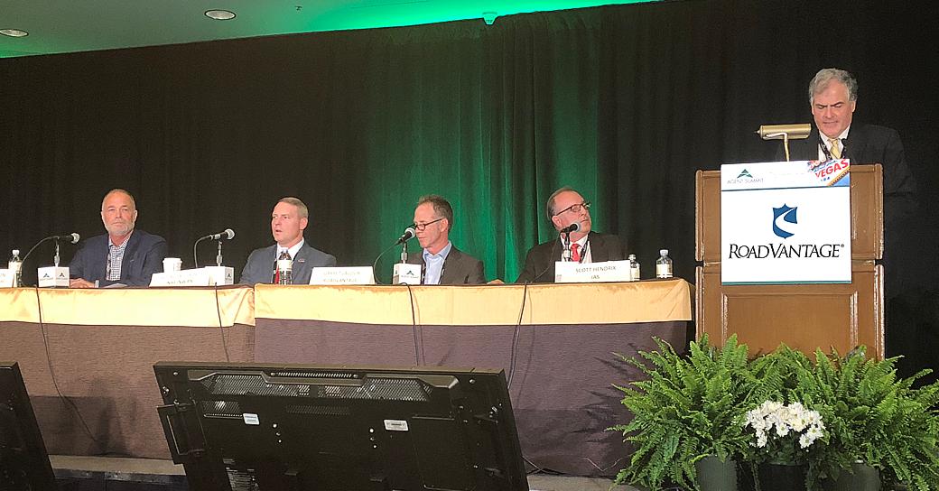 Garret Lacour speaking during Agent Summit 2018 panel