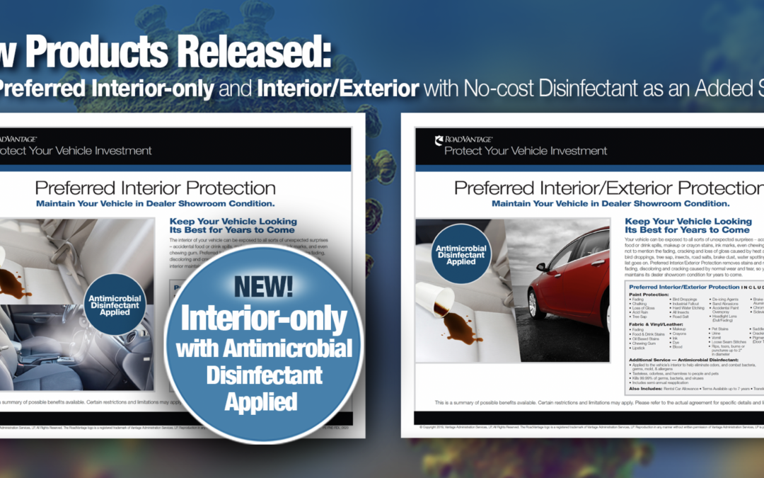 New Products Released — Preferred Interior-only and Interior/Exterior with No-Cost Antimicrobial Treatment