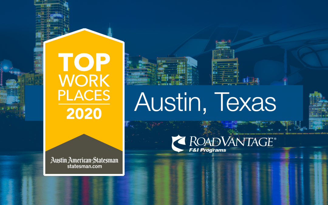 The Austin American-Statesman Names RoadVantage a Winner of the 2020 Austin Top Workplaces Award